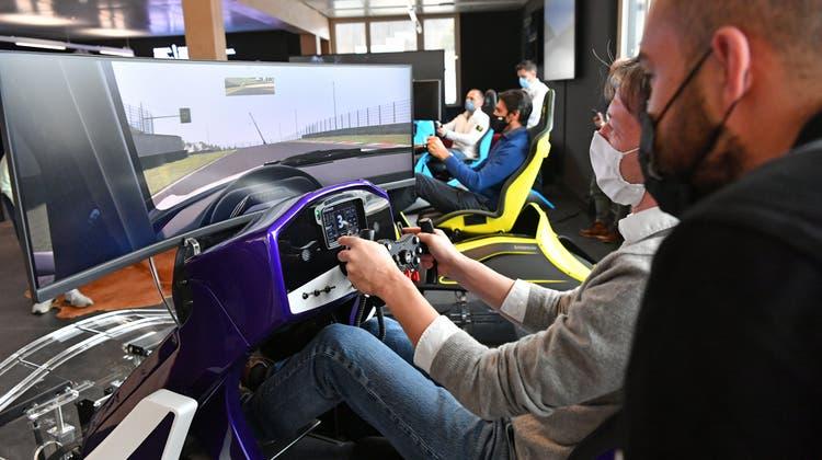 Ein Melting-Pot für die virtuellen Ferraristi: Die erste Racing Lounge ist eröffnet