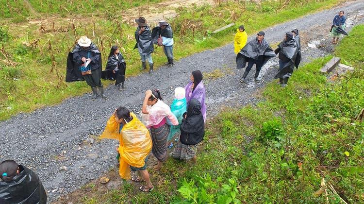 Angesichts der Überschwemmung als Folge des Hurrikans Eta ist das Coronavirus in der guatemaltekischen Stadt Cobán in den Hintergrund gerückt. (Bild: PD)