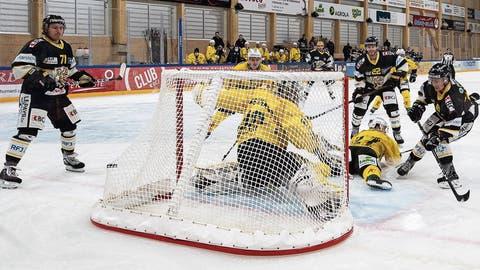 Thurgaus Goalie Nicola Aeberhard liess sich nur einmal bezwingen. Doch das reichte für eine weitere Niederlage der Ostschweizer.