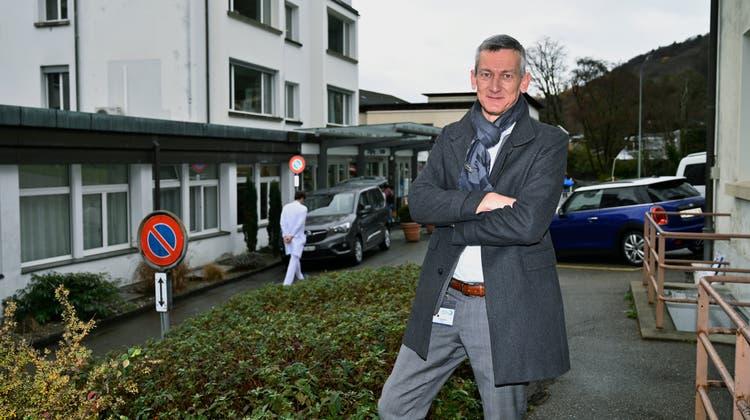 «Den goldenen Mittelweg gibt es nicht», sagt der Spitaldirektor