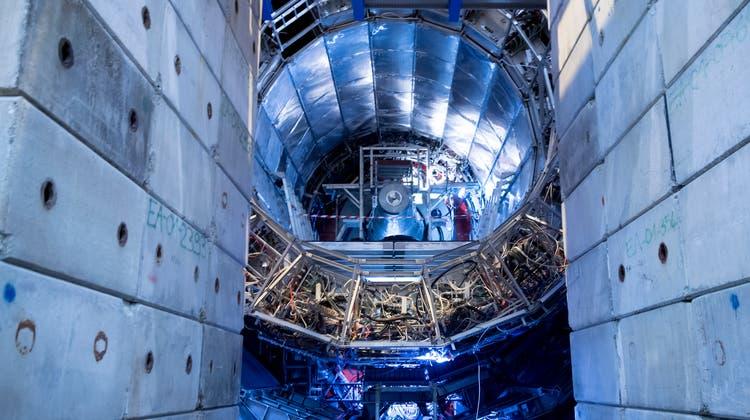 Forschung am CERN in Genf: Schweizer Wissenschafter profitierten überproportional von den EU-Forschungsgeldern. (Keystone)