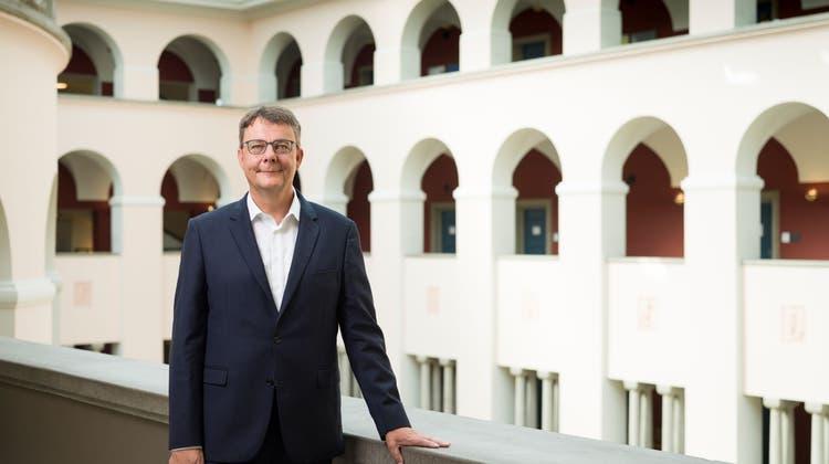 Uni-Rektor Schaepman: «Wir hoffen, die optimale Mischung von Fern- und Präsenzunterricht zu finden»