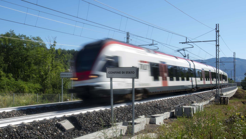 Die SBB kappen ihre Zugverbindungen nach Italien auf unbestimmte Zeit. (Symbolbild) (Keystone)