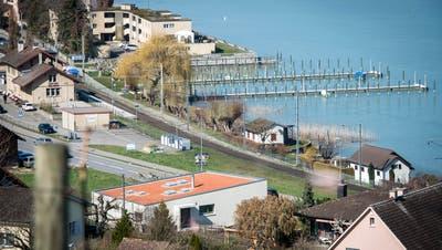 Der Hafen von Mannenbach. ((Bild: Reto Martin 20. März 2019))