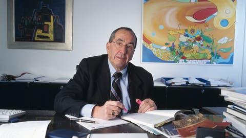 Silvio Borner war einer der bekanntesten Schweizer Ökonomen. Am Montag ist er im Alter von 79 Jahren verstorben. (Keystone)