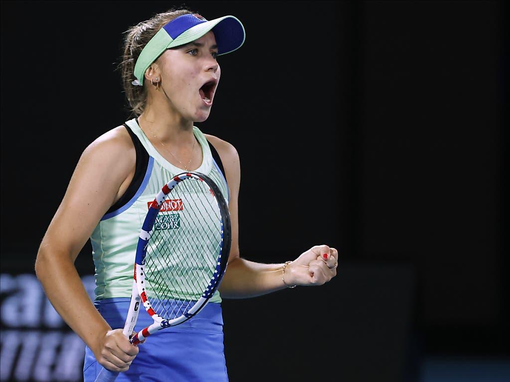 Sofia Kenin ist die jüngste Australian-Open-Siegerin seit Maria Scharapowa 2008