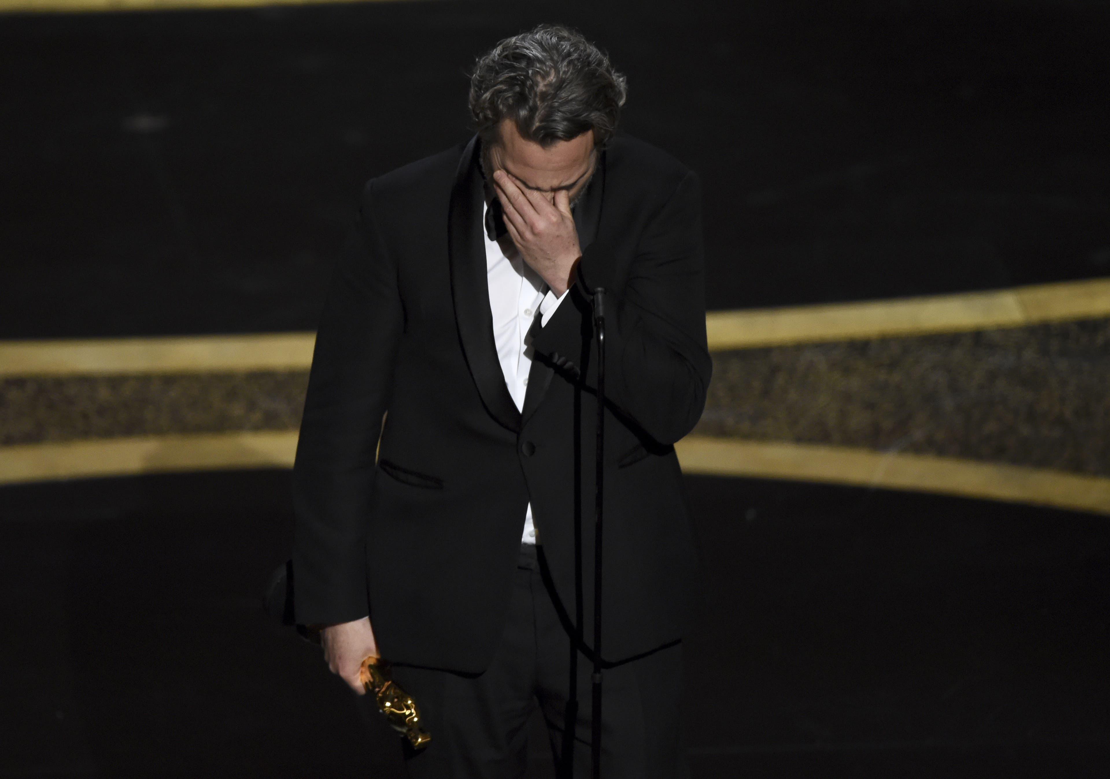 Joaquin Phoenix wurde als  bester Hauptdarsteller für seine Rolle als «Joker» ausgezeichnet.