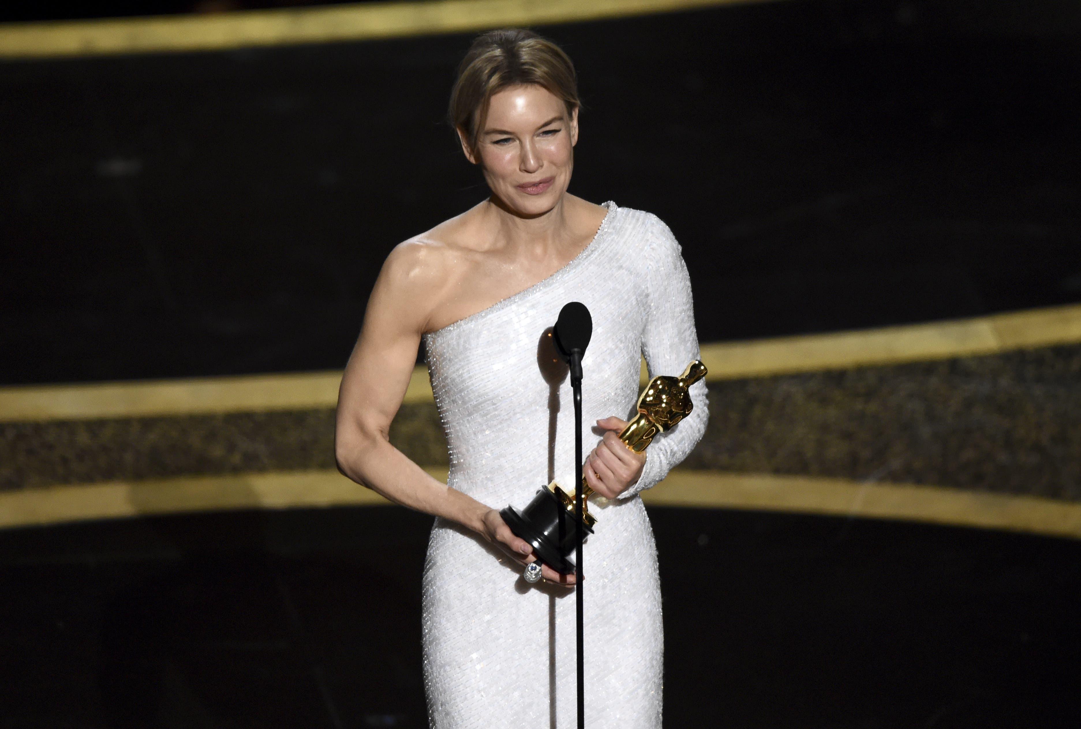 Als beste Hauptdarstellerin wurde Renee Zellweger für «Judy» ausgezeichnet.