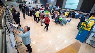 Hochbetrieb im kantonalen Wahlzentrum: Impression von den eidgenössischen Wahlen im letzten Oktober.
