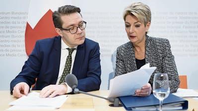 Begrenzungsinitiative: Karin Keller-Sutter lanciert Kampf gegen SVP