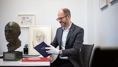 Zuger Staatsarchiv zeigt Philipp Etter aus einer neuen Perspektive