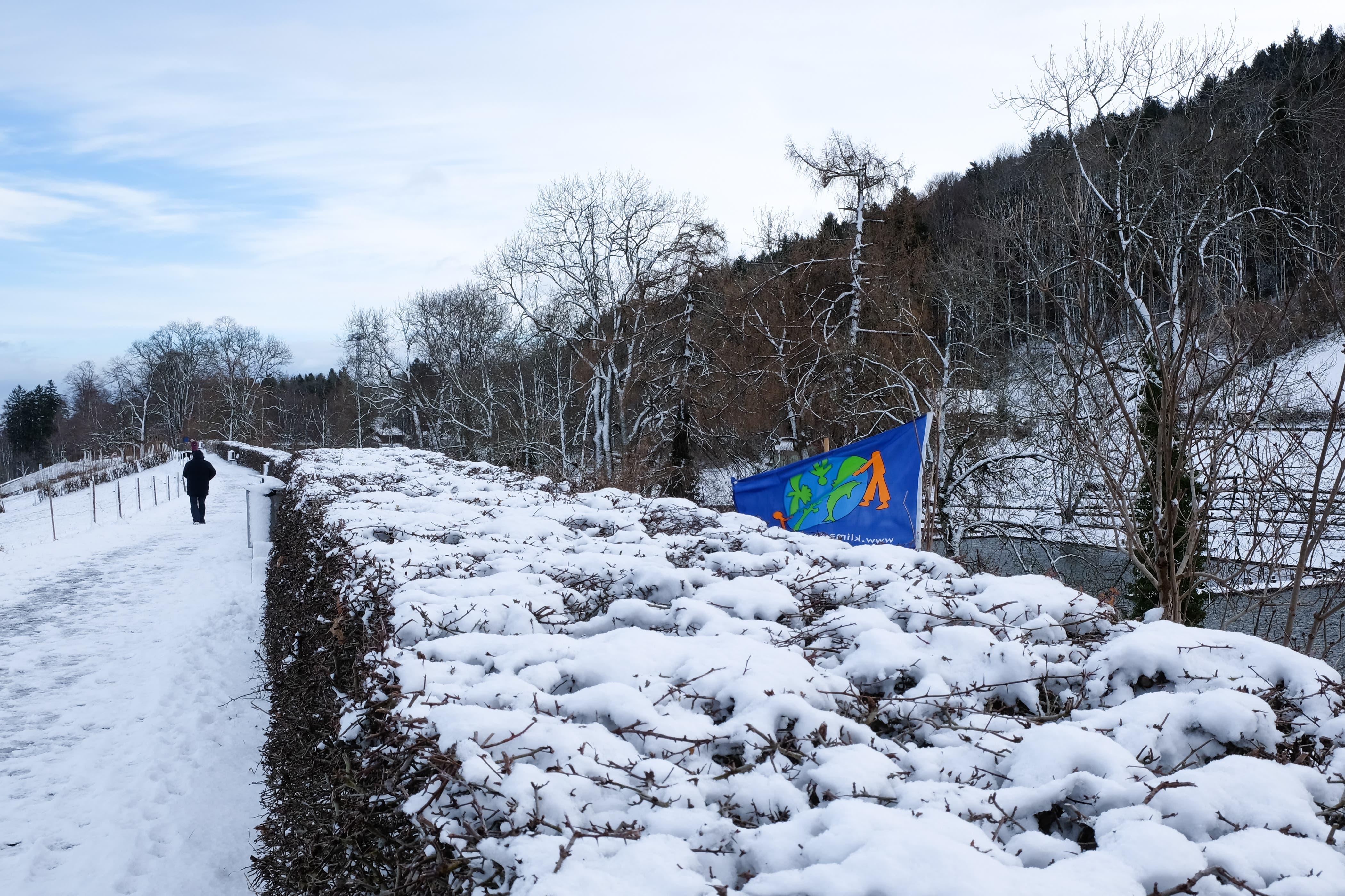 Ein Hauch Winter am Panoramaweg auf Drei Weieren.