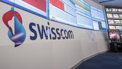 Im Swisscom-Netz ist es in der Nacht auf Mittwoch zu grösseren Ausfällen gekommen. (Keystone)