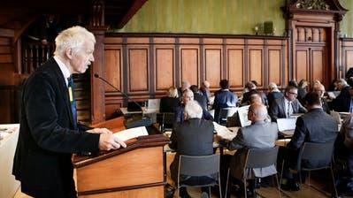 Toni Kappler, Kantonsrat der Grünen, wollte Kritikpunkte zu Wil-West äussern. (Bild: Donato Caspari)