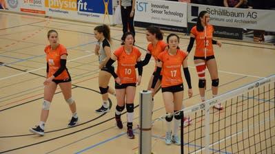 Am Samstag beginnt für die Frauen von Raiffeisen Volley Toggenburg der Kampf um den Verbleib in der Nationalliga A. (Bild: Beat Lanzendorfer)
