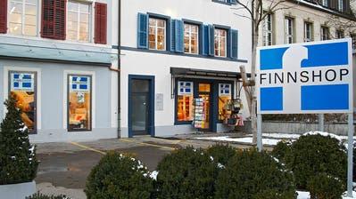 Die Finnshop-Filiale in Frauenfeld von der Promenadenstrasse aus. ((Bild: PD))