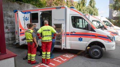 Ein Rettungsfahrzeug des Luzerner Kantonsspitals. (PD)