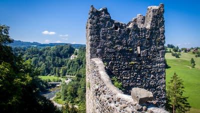 Die Ruine Ramschwag. (Benjamin Manser)