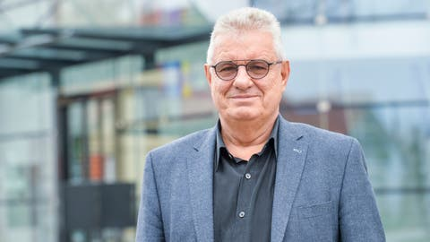 Richard Stäheli,Gemeindepräsident von Uttwil. (Donato Caspari)