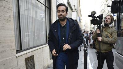 Macrons Mann für Pariser Rathaus ist draussen: Benjamin Griveaux. (Bild: Keystone)