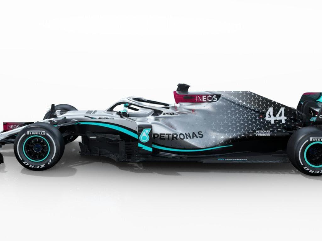So sieht der Mercedes-AMG F1 W11 EQ aus