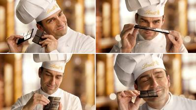 Lindt ist nur dank seiner Schokolade, sondern auch dank seiner Werbespots erfolgreich. (Bild: Urs Flüeler, Keystone)