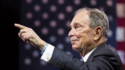 New Yorks Ex-Bürgermeister Michael Bloomberg glaubt nicht an die Fähigkeiten seiner demokratischen Konkurrenz.