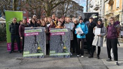 Die Stadtklima-Initiative ist lanciert. (Bild: PD)