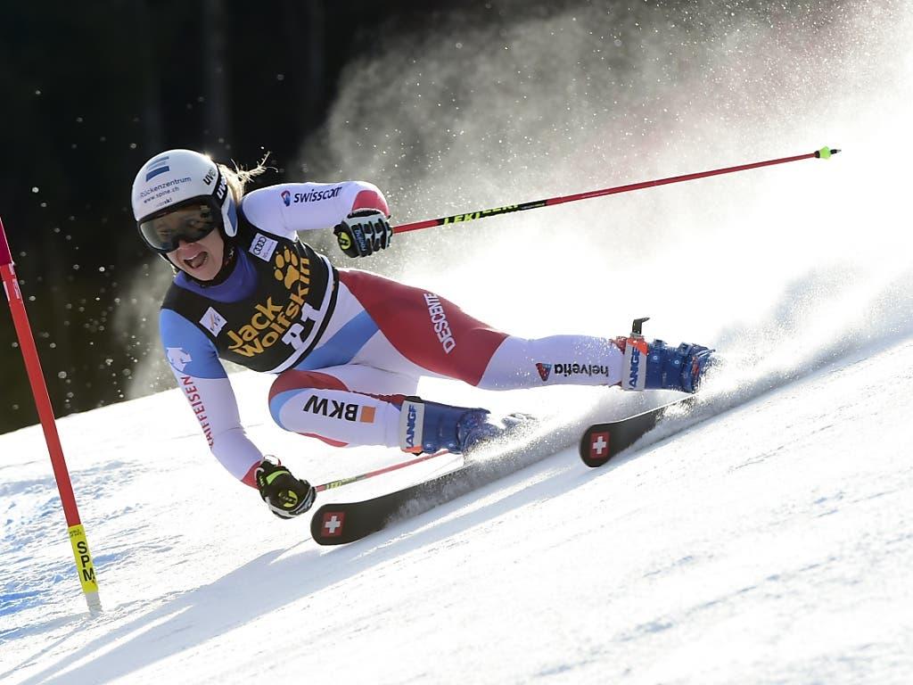 Andrea Ellenberger überzeugte mit ihrem zweitbesten Ergebnis im Weltcup