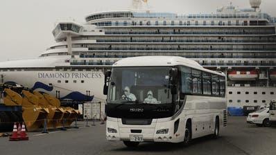Corona-Virus: Japan lässt Kreuzfahrt-Passagiere wieder an Land ++ Schweizer zurück aus französischer Quarantäne