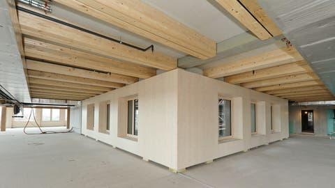 Hochschule Luzern entwickelt Holzmodul für Hochhäuser