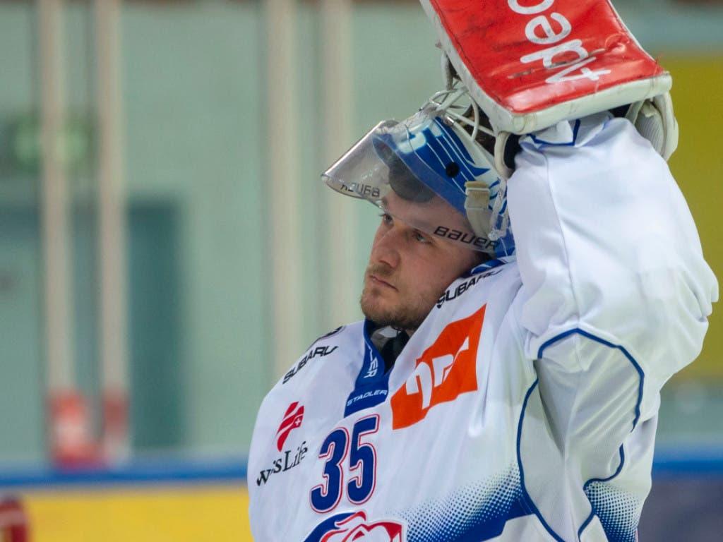 Daniel Guntern ersetzte Goalie Lukas Flüeler und kam beim zweiten Einsatz in dieser Saison von Anfang an zum zweiten Sieg