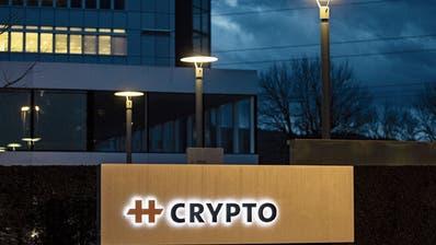 Ehemaliger Hauptsitz der Crypto AG in Steinhausen. (Bild: Alexandra Wey/Keystone (Donnerstag, 13. Februar 2020))