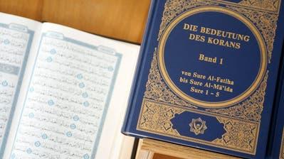 Der Luzerner Regierungsrat spricht sich für eine Imam-Ausbildung aus. (Symbolbild: Alessandro Della Bella/Keystone)