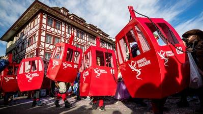 Chendermonster in Luzern am Dienstag, 5. März 2019. (Philipp Schmidli / PHILIPP SCHMIDLI   Fotografie)