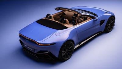 """Aston Martin bringt zum 70. Geburtstag der """"Vantage""""-Modellreihe eine offene Variante des Zweisitzers (HO)"""