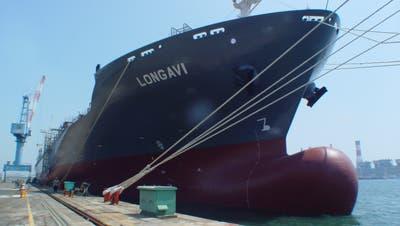Wärtsilä rüstet unter anderem Containerschiffe wiedieses mit Dieselmotoren aus. (Bild: PD)