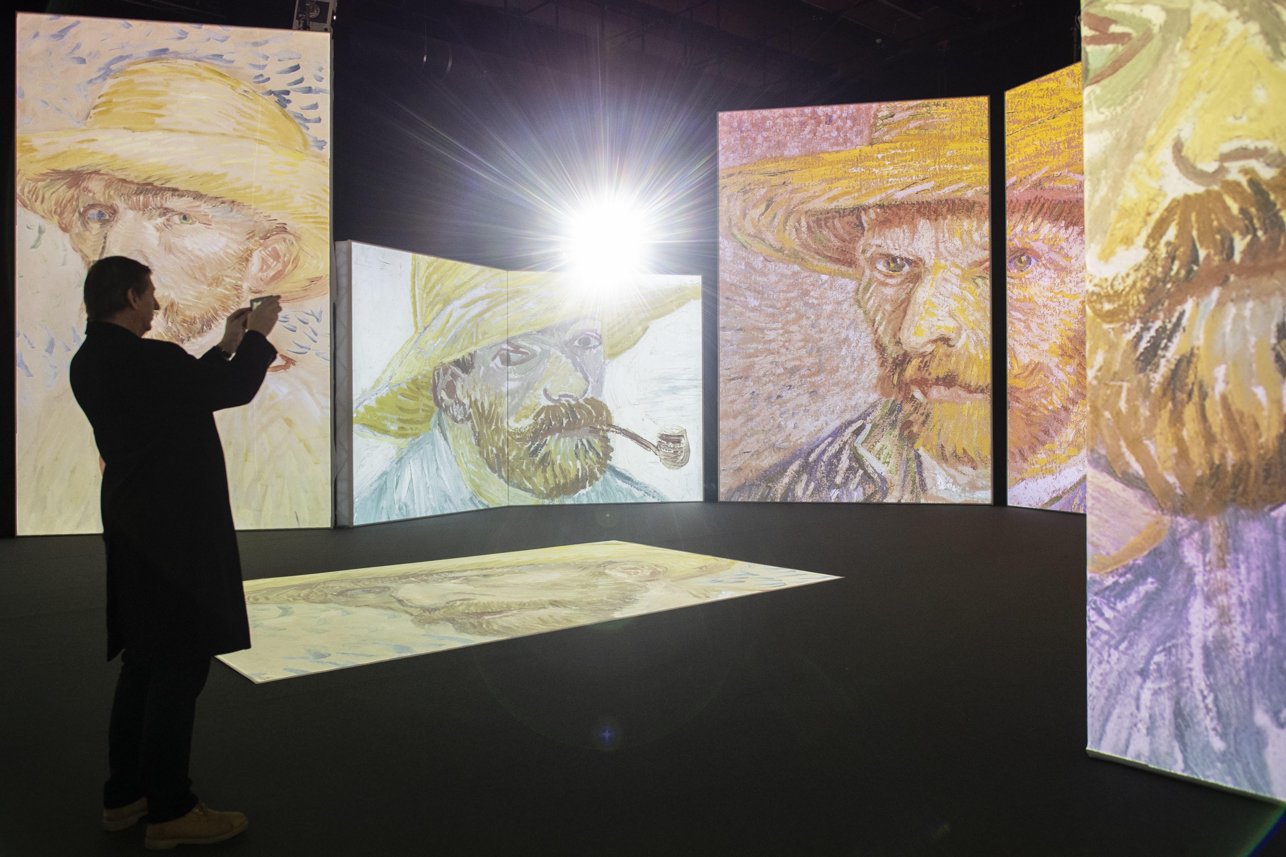 Vincent van Gogh zum Eintauchen – meistbesuchte Multimedia