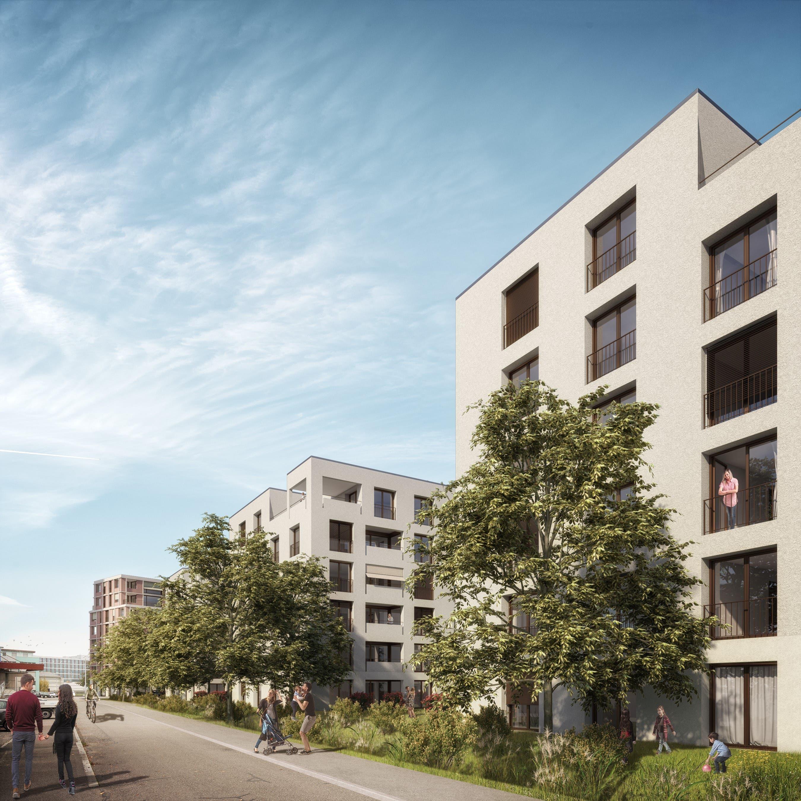 Gestaltungsplan Rigistrasse