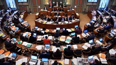 Dritter Sessionstag im St.Galler Kantonsrat: Die hitzige Energiedebatte geht in die zweite Runde. (Bild: Regina Kühne)