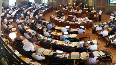 Der Kantonsratssaal in St.Gallen: Hier möchten 93 Toggenburgerinnen und Toggenburger gerne Platz nehmen. (Bild: Max Tinner)
