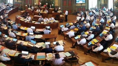 Der Kantonsratsaal in St.Gallen: Hier möchten 171 Kandidierende aus der Region gerne Platz nehmen. (Bild: Max Tinner)