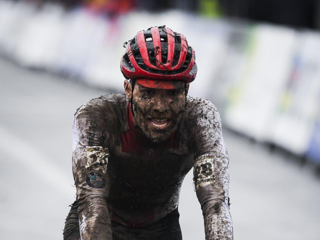 Timon Rüegg schafft es als bester Schweizer auf den 13. Platz