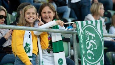 Victory: Der FC St.Gallen und seine Erfolge lösen Begeisterung in der Region aus. (Urs Bucher)
