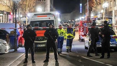 Elf Tote durch Schüsse in Hanau - mutmasslicher Täter tot gefunden