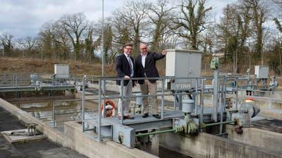 Die Deutsche Gemeinde Gailingen will ihr Abwasser in der Schweiz reinigen lassen