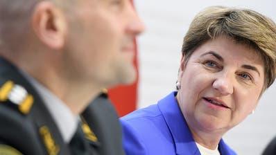 Bundesrat will Armeeausgaben in den nächsten Jahren laufend erhöhen