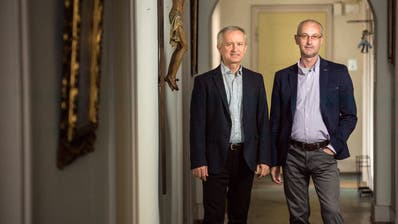Jan Walentek (links) und Marek Kluk sind 2017 nach Kreuzlingen gekommen. ((Bild: Reto Martin/4.4.2017))