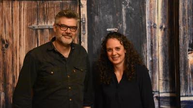 Von null auf zwei: Stefan Diener und Nadja Bösiger wollen für die SP in den Kirchberger Gemeinderat einziehen. (Bild: Ruben Schönenberger)