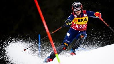 Die Italienerin Federica Brignone ist die neue Führende im Gesamtweltcup. (Jean-Christophe Bott / KEYSTONE)